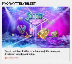 Reel Thrill kisat